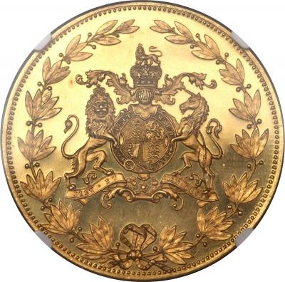 1887 Victoria gold pattern Crown