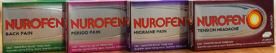 Nurofen Specific Pain products landscape