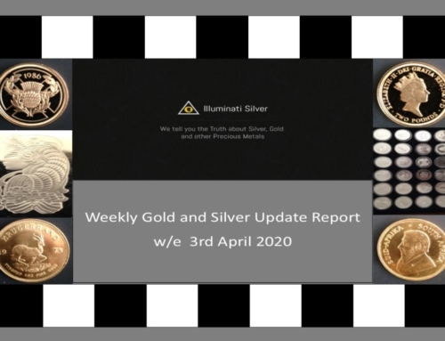 Gold & Silver Weekly Update w/e 3rd April 2020