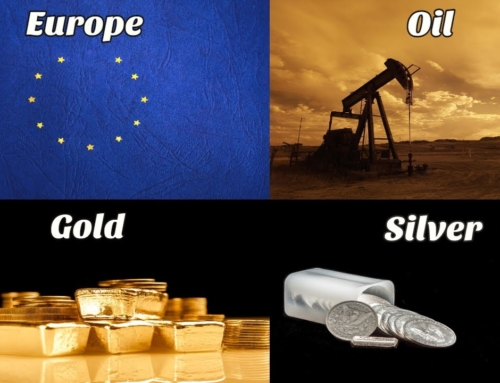 Europe's Parlous Economic Position + Oil +Gold + Silver