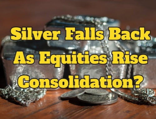 Silver Falls Back as Equities Rise – Is This Just Consolidation?