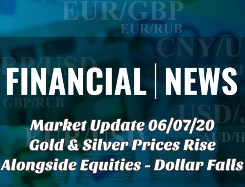 Gold & Silver Prices Rise Alongside Equities