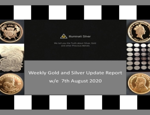 Gold & Silver weekly Update w/e 7th August 2020
