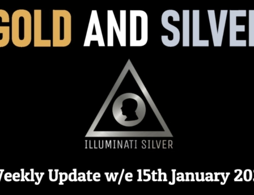 Gold & Silver Weekly Update for w/e  15th January 2021