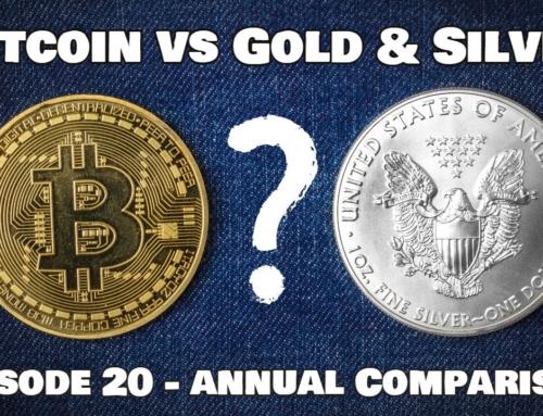 Bitcoin vs Gold & Silver – Episode 20 – Annual Comparison